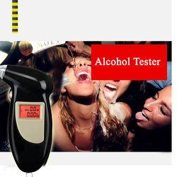 Schnelle Antwort Professionelle LCD Alkoholtester Digitale Alkohol-detektor Alkoholtester 2016 Polizei Alcotester Hintergrundbeleuchtung Display