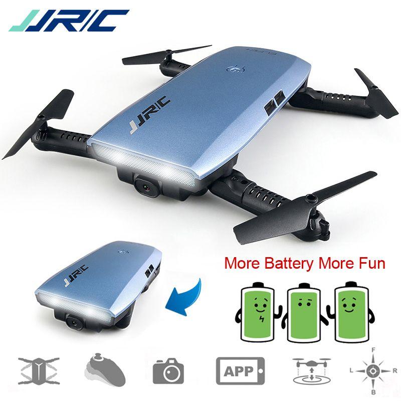 JJRC JJR/C H47 FPV Drone Foldable Quadcopter with Camera HD Altitude Hold Headless Mode G-Sensor Control Dron VS H37 Mini