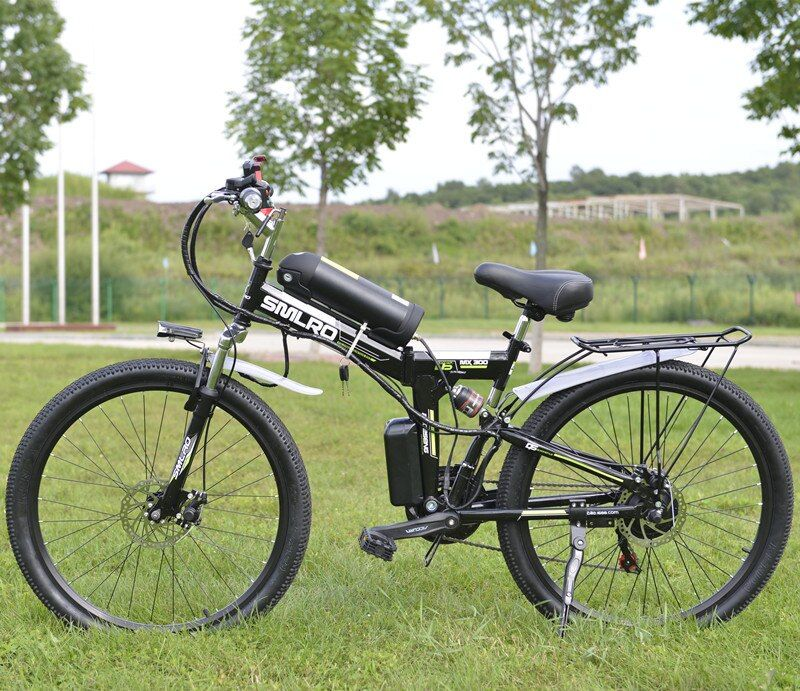 26 inch Electric Bicycle 48V 10.8ah Lithium Battery Electric Mountain Bike 350W Motor Foldable EBike powerful Electric Bike