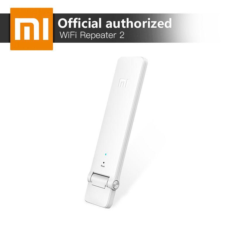 Xiao Mi Ми Wi-Fi ретранслятор 2 роутер Extender 300 Мбит/с усиление сигнала сети Усилители домашние Беспроводной маршрутизатор Телевизионные антенны ...