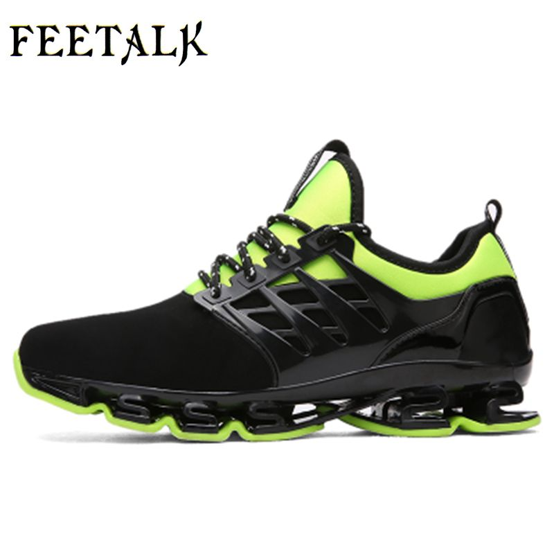 Super Cool breathable running shoes men sneakers bounce summer outdoor sport shoes Professional Training shoes plus size 46