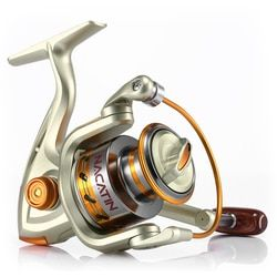 Yumoshi EF1000-7000 12BB 5.2:1 Metal Spinning Fishing Reel Fly Wheel For Fresh/Salt Water Sea Fishing Spinning Reel Carp Fishing