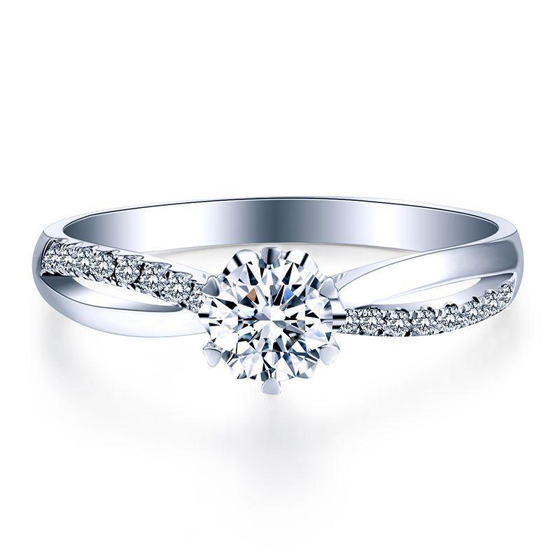 ZHJIASHUN Klassische 0.8ct Birne Form Moissanites Diamant 14 k 585 Weiß Gold Hochzeit Ringe Twist Bands Für Frauen Schmuck