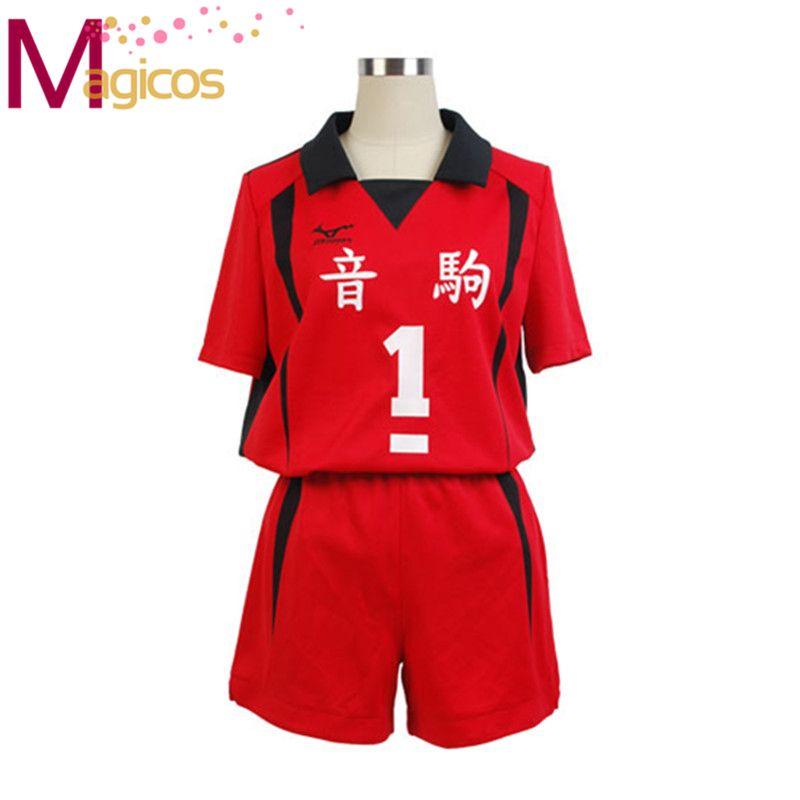 Anime Haikyuu Nekoma lycée uniforme Kuroo Tetsurou/kozumekenma maillot Cosplay Costume Sportswear
