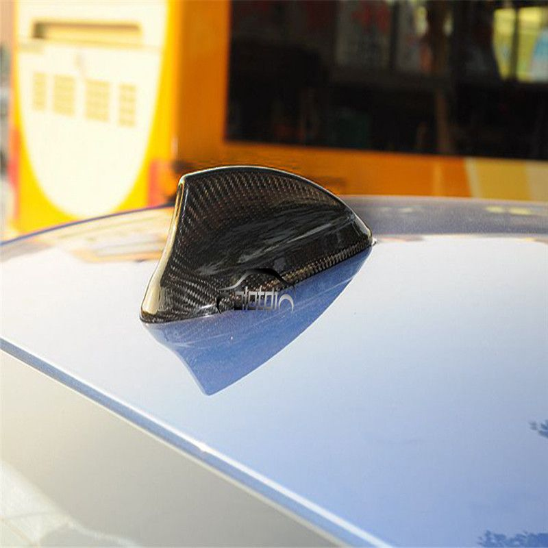 Carbon Fiber Shark Fin Antenna Cover For BMW E46 E90 E92 F20 F30 F10 F34 G30 M2 M3 M4 F15 F16 X5M X6M Car Styling Accessories