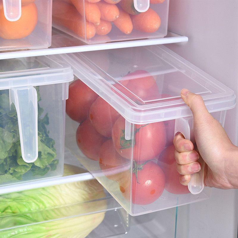 Cuisine Transparent PP boîte de stockage Grains haricots stockage contenir scellé maison organisateur alimentaire conteneur réfrigérateur boîtes de stockage
