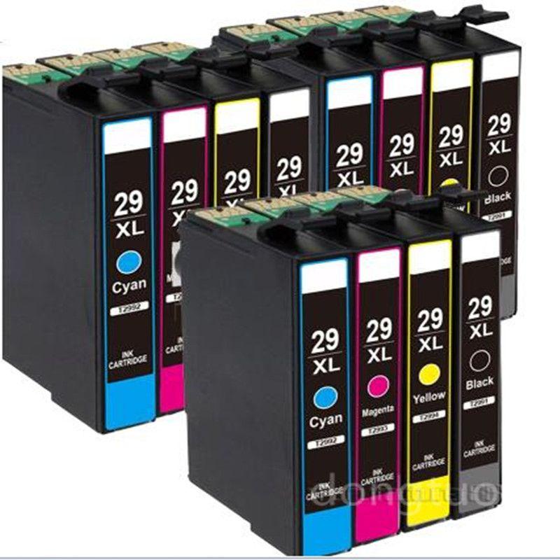 12X Pour XP-235 XP-245 XP-332 XP-335 XP235 XP245 XP332 XP335 XP 235 245 332 335 Imprimante Cartouche D'encre Europe Catridges T29