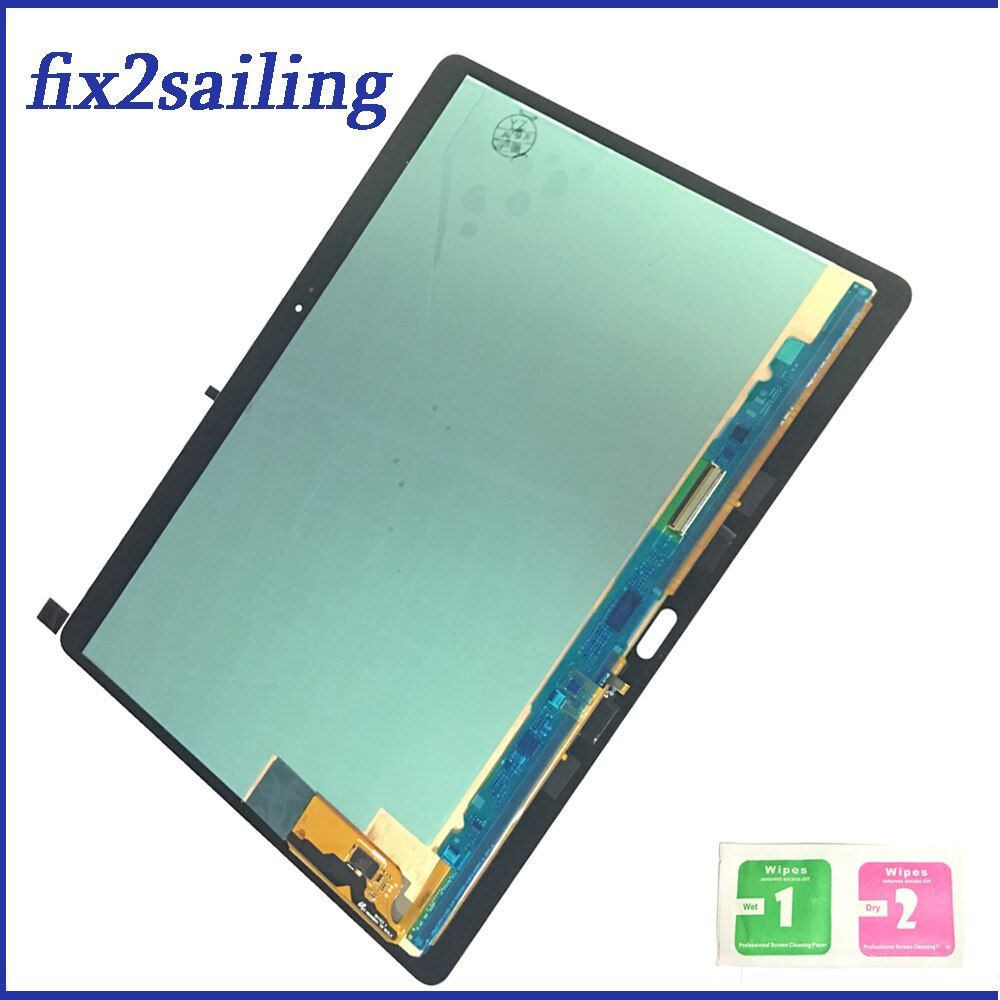 100% Tested Assembly Panel Repair For Samsung GALAXY Tab S 10.5 T800 Wi-Fi T805 3G LCD Display Touch Screen Digitizer