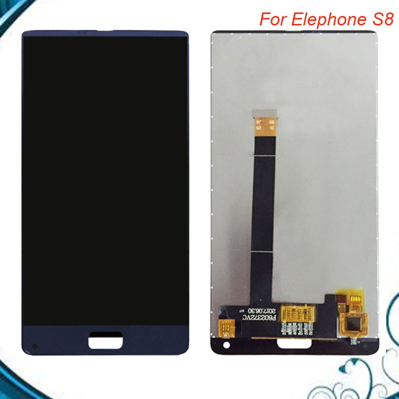 Top Quality For Elephone S8 LCD Display+Touch Screen 100% Tested Digitizer Assembly Replacement Accessories IN Stock
