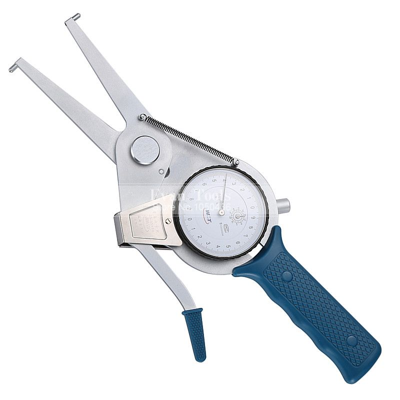 Metric Inside Dial Caliper Gauges 35-55*80mm/0.01mm Carbide Points Shockproof Micrometer Measuring Tools