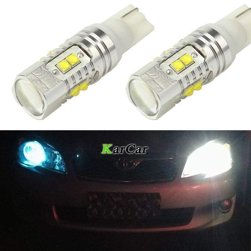 650LM T10 194 921 CREE Puce XBD 50 W LED Queue Lumière 912 Feux de Recul 161 Lampe De Frein, 12 V 168 Liquidation Lumière W5W Stop Ampoules