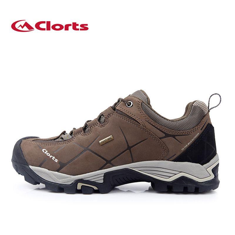 2017 Nouveau Clorts Hommes Chaussures Confort Chaussures de Randonnée Nubuck Imperméable Trekking Chaussures Escalade Chaussures HKL-805A