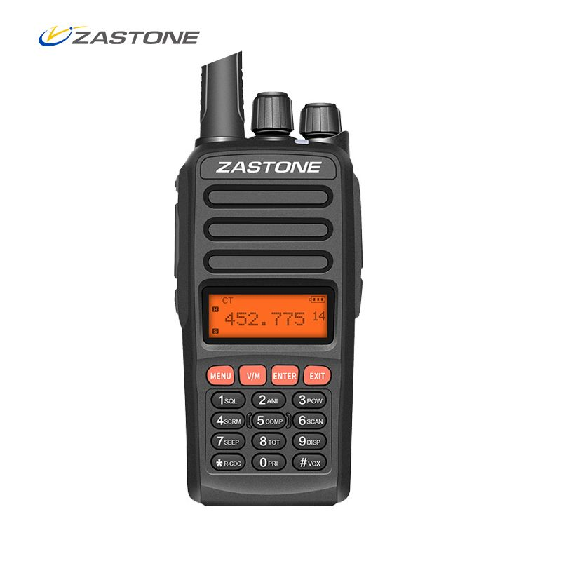 ZASTONE A98 Portable Walkie Talkie 10W 5-10km Long Distance UHF 400-470MHz 2500mAh 128CH Radio Communicator HF Transceiver