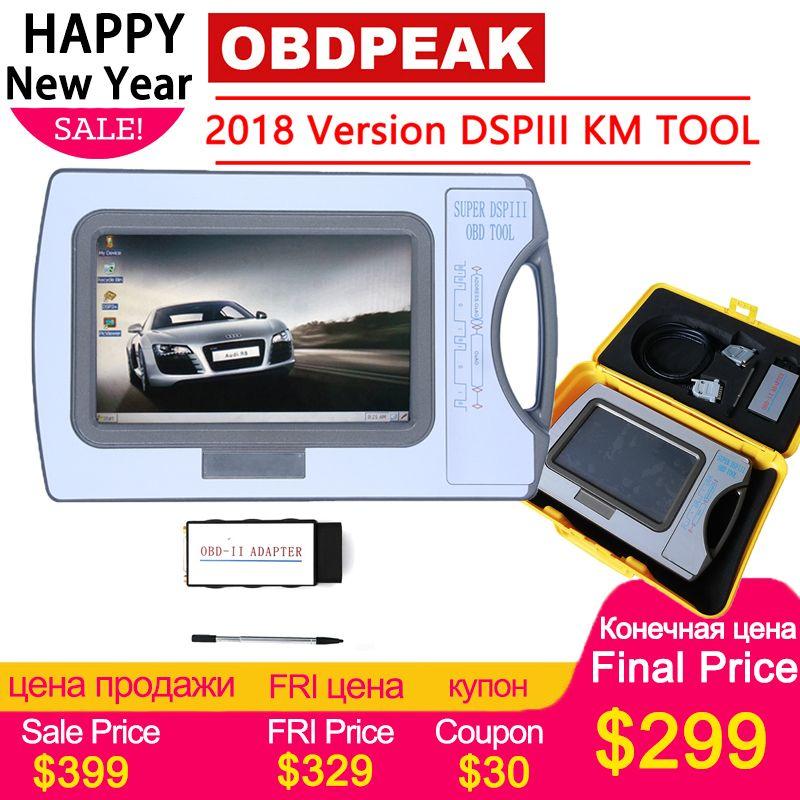 2019 Version Entfernungsmesser-korrektur Werkzeug DSP3 DSPIII KM Werkzeug DSP 3 DSP III Arbeit Für 2010-2019 Jahre Neue modelle Durch OBD2