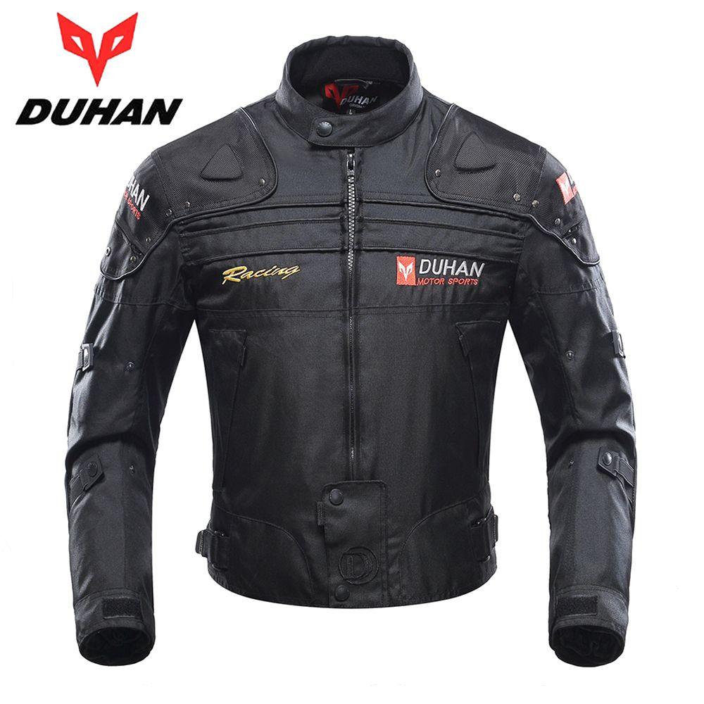 DUHAN Motorcycle Jacket Winter Body Armor Protective Moto Jacket Keep Warm Racing Jacket Motorbike Windproof Jaqueta Clothing