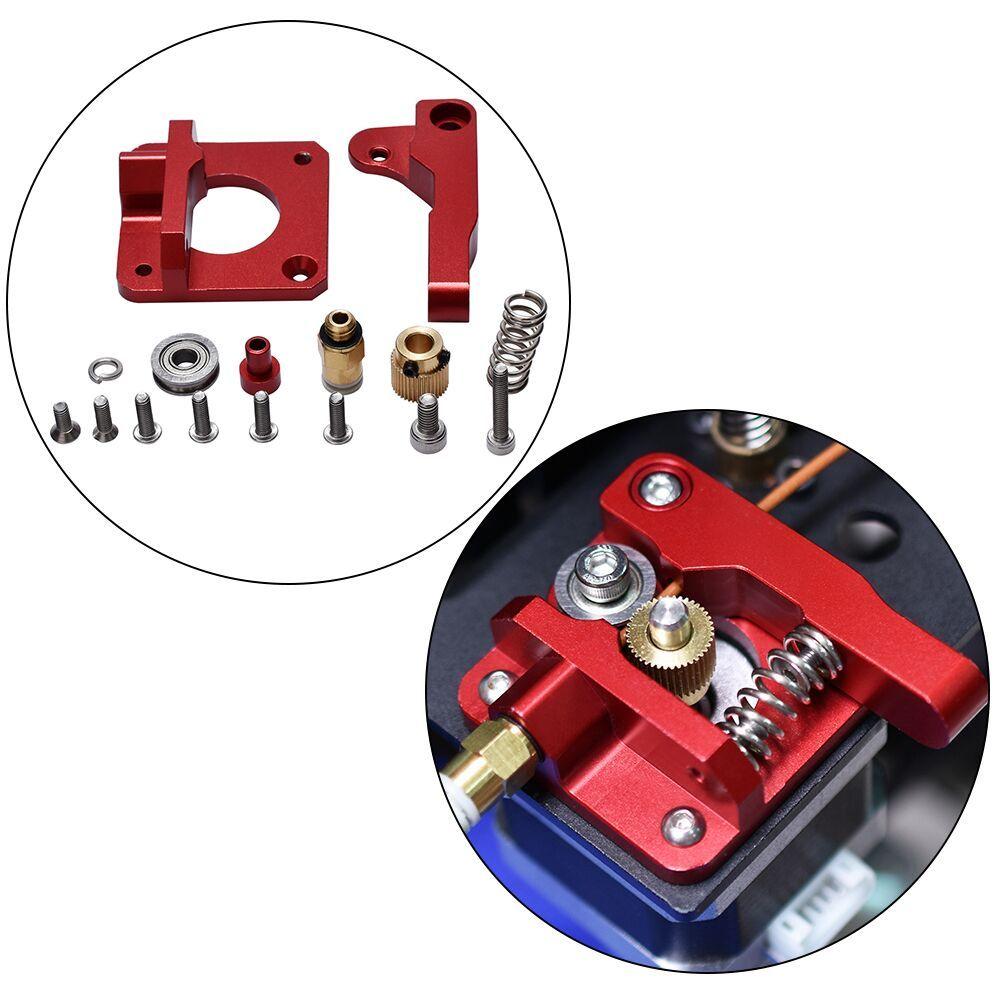 3D Printer Parts MK8 Extruder Aluminum Alloy Block Bowden Extruder 1.75MM Filament Reprap Extrusion For CR10 CR-10 CR-10S DIY