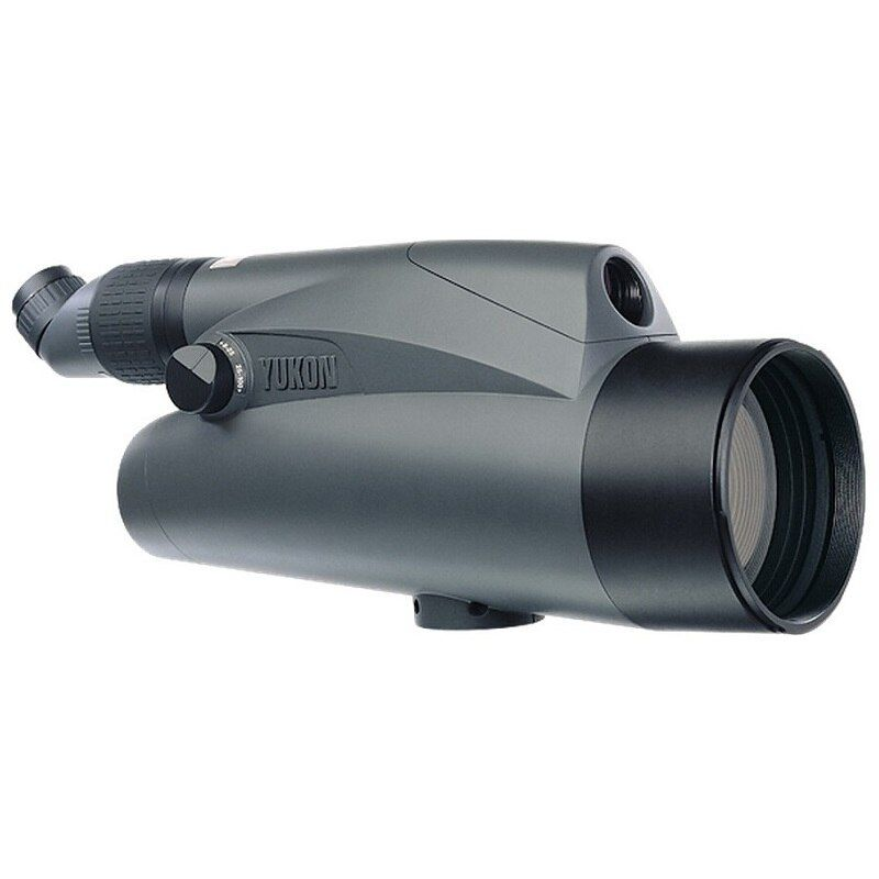 Yukon 21031 Variable Power Spotting Scope 6-100x100 Compact and Lightweight Yukon Monocular with Dual Multicoated lenses