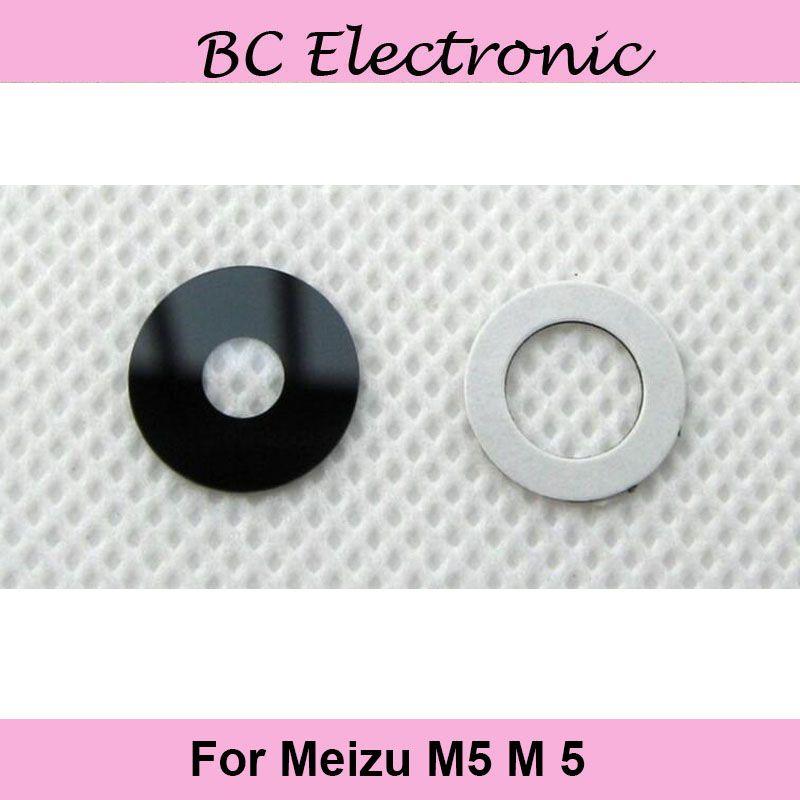 Haute qualité 5.2 pouce pour Meizu M5 M 5 m611H retour Caméra Verre pour Meilan 5 M5 M 5 Livraison gratuite