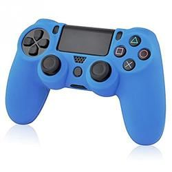 Souple En Caoutchouc de Silicone Couverture de Caisse de Peau pour Sony PS4 Case Grip Controller Couverture Dualshock4 PS4 JoyStick Caps