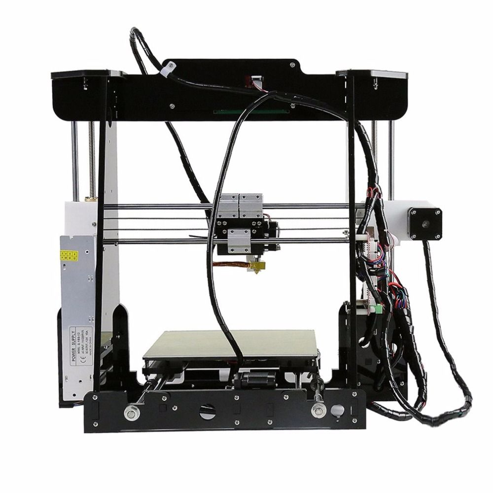 Anet A8 Impresora 3D Printer Printing Acrylic Frame Mechanical Kit I3 Imprima 3D DIY 3D Print Aluminum Materials LCD Filament