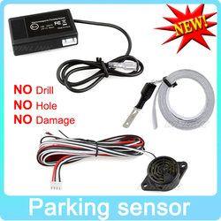 Caliente del coche Sensor de aparcamiento electromagnético sin agujeros \ fácil instalar radar del estacionamiento de copia de seguridad de la Guardia parachoques parking system