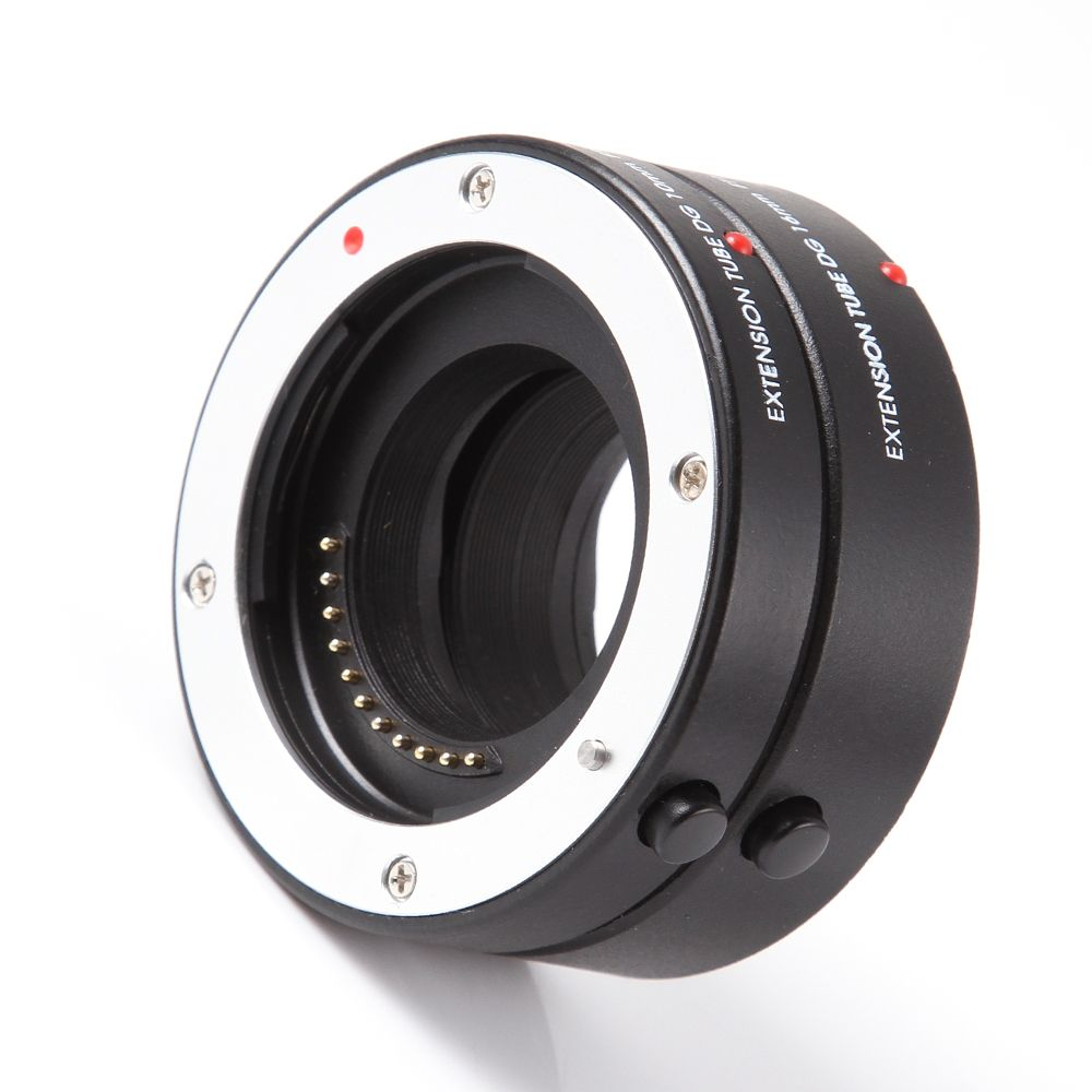 FOTGA Macro AF Auto Focus Extension Tube 10mm 16mm Ring for Panasonic Olympus Four Thirds M43 Micro 4/3 Camera Lens