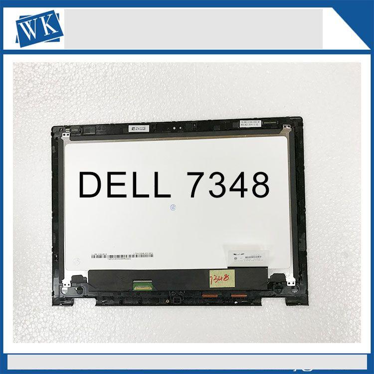 Freies verschiffen 13,3 ''LCD Touchscreen LTN133HL03-201 Montage Für Dell Inspiron 13 7000 serie 7347 7348 P57G (1920*1080)