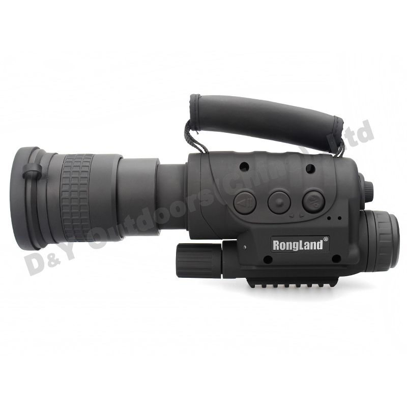 Rongland NV-760D+ Infrared Night Vision IR Monocular Telescopes 7x60 CCD Digital Night Vision Device Day and Night DVR Record