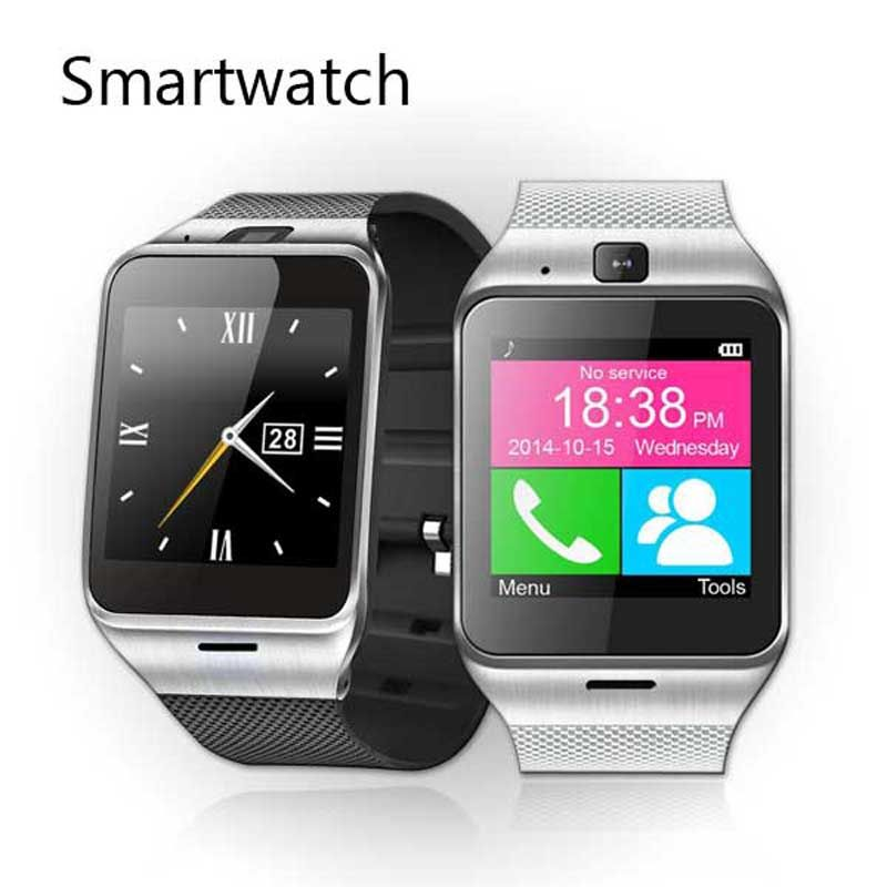 Bluetooth Smartwatch Gv18 Aplus Wrist <font><b>Montre</b></font> Connecter Android Watch NFC Waterproof Wearable Devices With SIM Card Intelligente