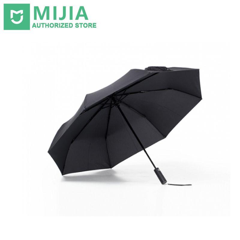 Original New Xiaomi Mijia Automatic Sunny Rainy Aluminum Windproof Waterproof UV Man woman Summer Winter