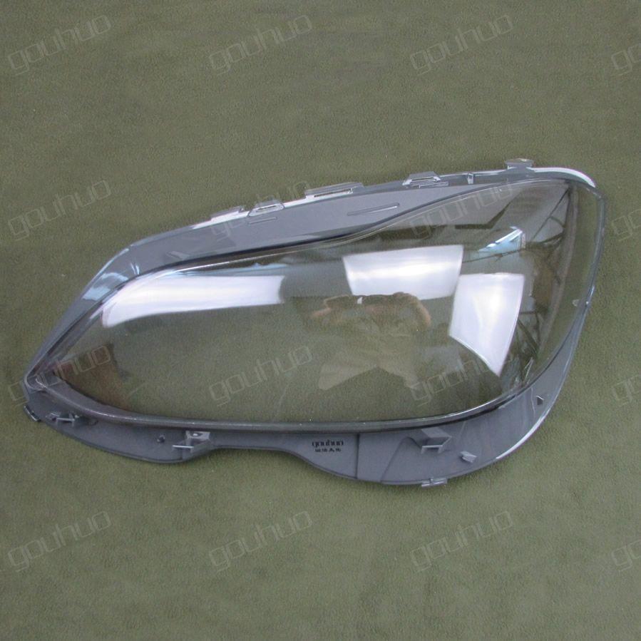 transparent lampshade lamp shade front Headlight shell For 14-15 Benz W212  E200L E260L E280L E300L E350L 2pcs