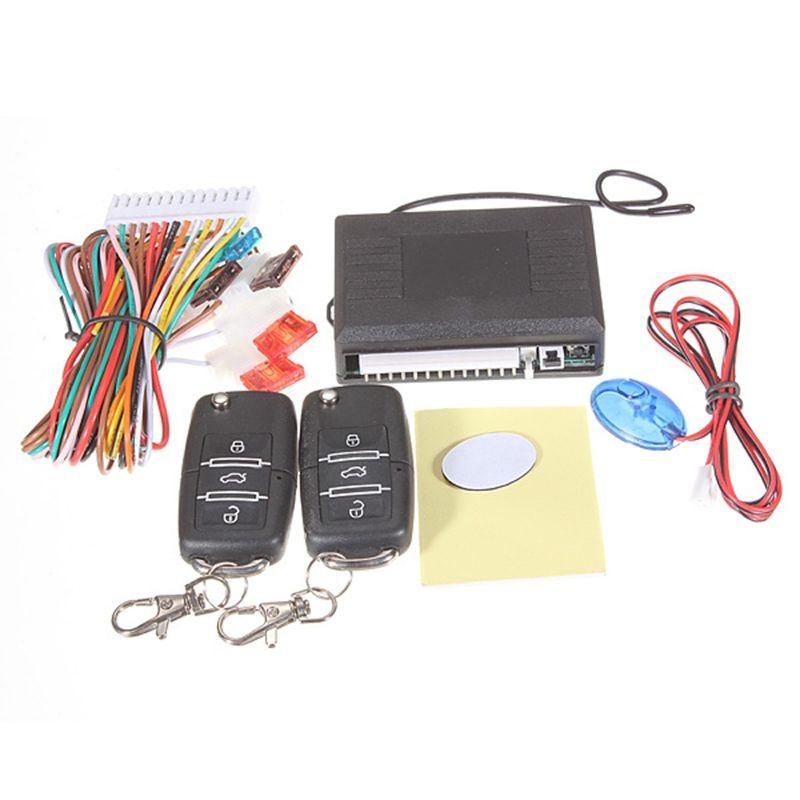 Car Alarm Systems Auto Remote Central Kit Door Lock Vehicle Keyless Entry System Central Locking with Remote Control  For VW