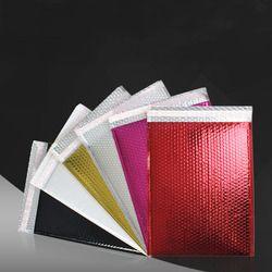 10 pcs/lots Coloré Enveloppes À Bulles Rembourré Enveloppes D'emballage D'expédition Sacs PVC Bulle Enveloppe Postale Sacs XF01