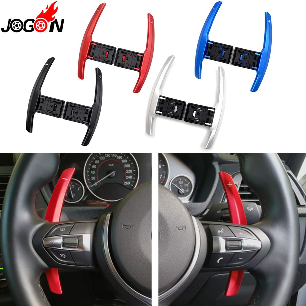 Steering Wheel Paddle Extension Shifter Replacement For BMW F20 F22 F31 F34 F35 F30 F32 F10 F18 F11 F07 F12 F02 F15 F16 F25 F26