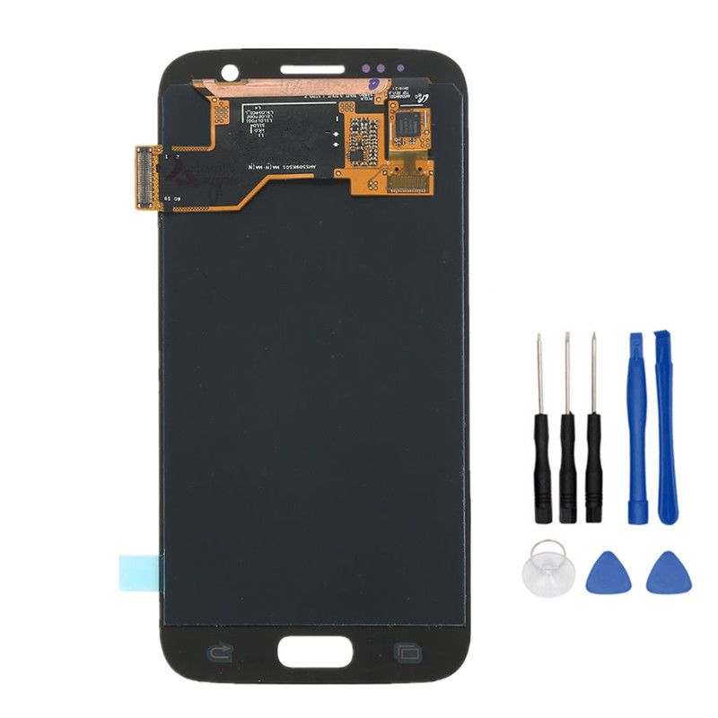 Super AMOLED Phone LCD Display For Samsung Galaxy S7 G930 G930F G930A G930V G930P G930T Touch Screen Digitizer Assembly+Scither
