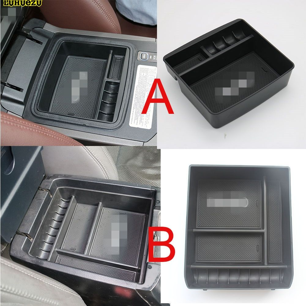 Non-Slip Central Armrest Container Stowing Box Refrigerator Cover Mat For Toyota Land <font><b>Cruiser</b></font> Prado FJ 120 2003-2009 Accessories