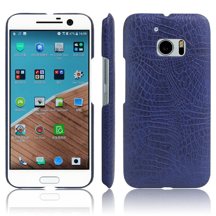 Für HTC EINS M7 M8 mini M9 M9 + M9 plus M10 M10Pro E9 U Spielen U ULTRA fall krokoprägung pu-leder Luxury business telefonabdeckung