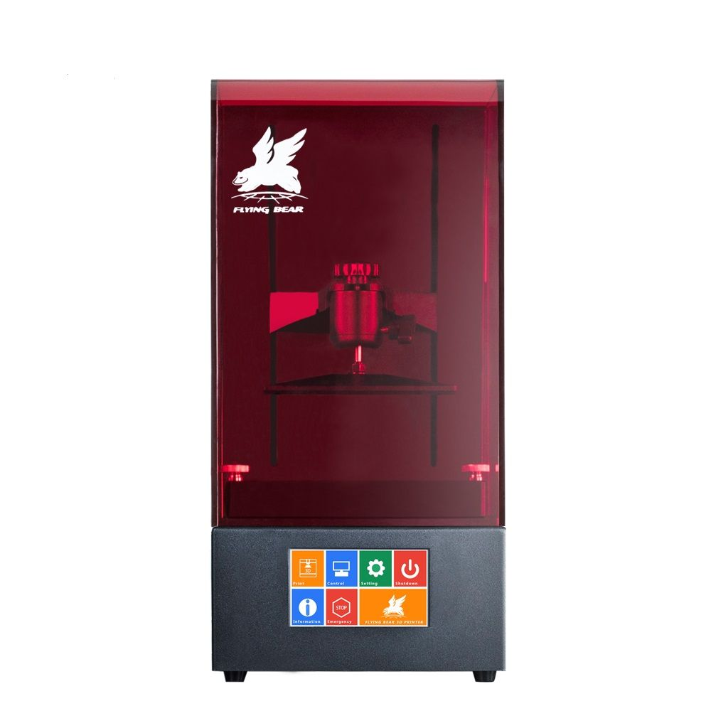 Hot Sale Flyingbear Shine UV Resin High Precision LCD DLP 3D Printer WiFi Ball screw for Activity