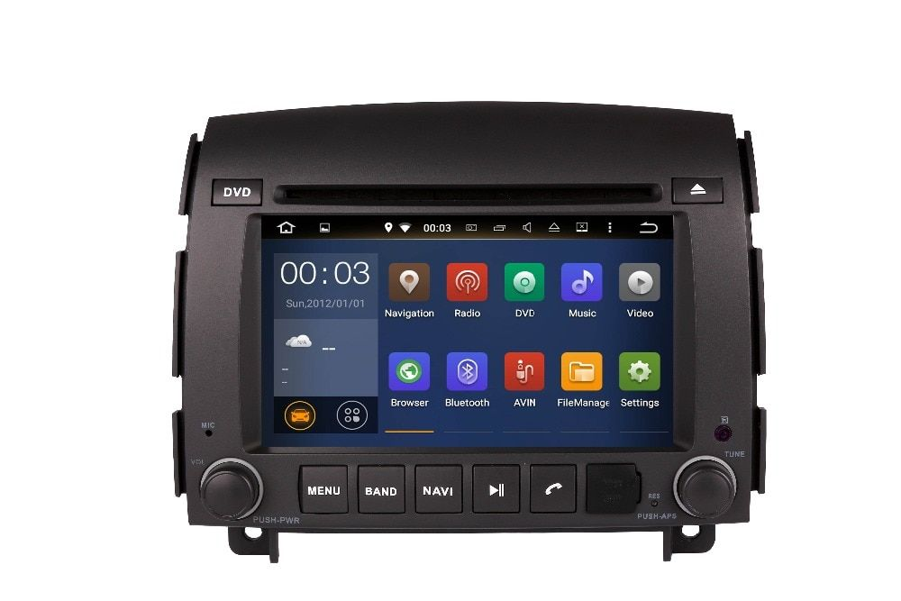 4G LTE Android 8.0 4G/android 7.1 2DIN CAR DVD PLAYER Multimedia GPS RADIO PC SCREEN For SONATA NF YU XIANG 2006 - 3G WIFI OBD