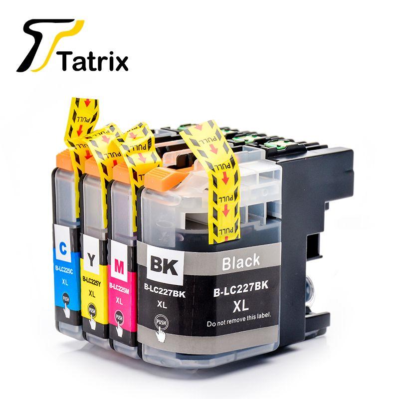 LC227XL LC225XL BK/C/M/Y Complet Cartouche D'encre Compatible Pour Brother DCP-J4120DW/J4420DW/J4620DW/J4625DW/J5620DW/J5625DW/J5320DW