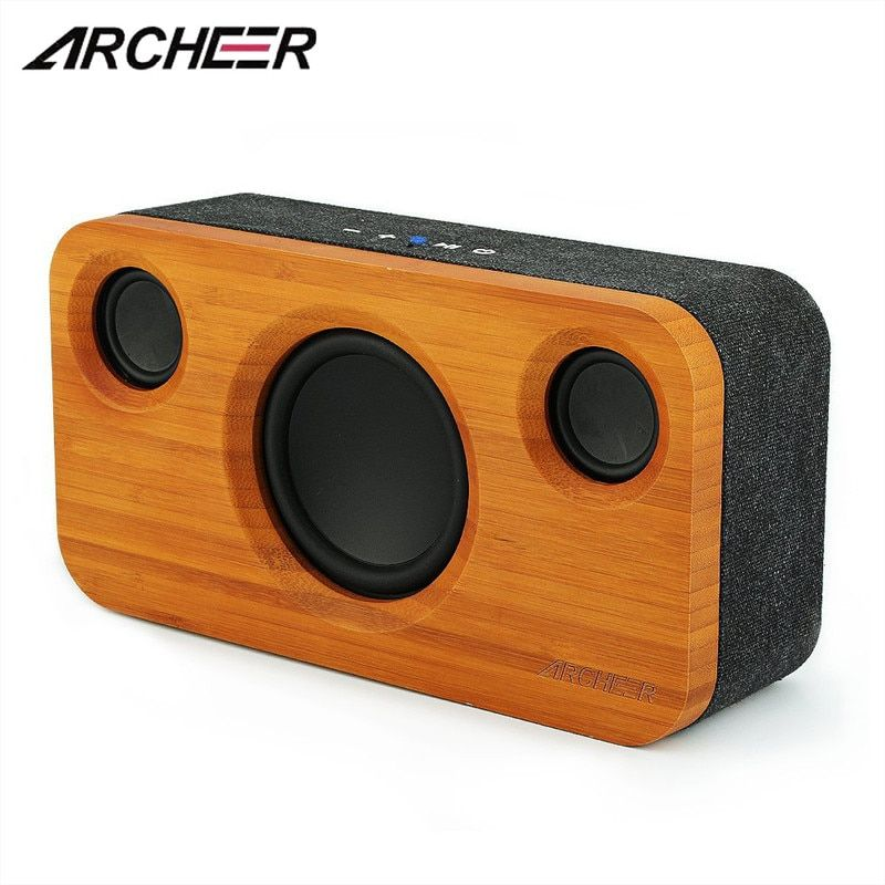 ARCHEER A320S Upgraded Bluetooh Speaker Built-in Mic Stereo Pairing Super Bass 8800mAh 20 Hour Play TWS Speaker for Home Party