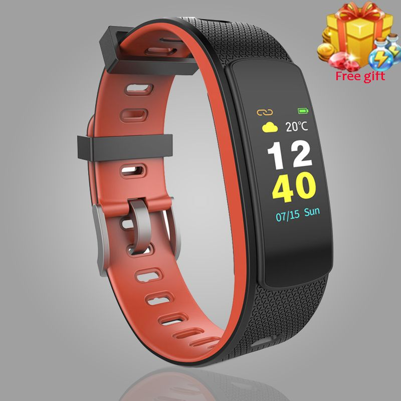 iwown I6 HR C Smart Fitness Bracelet Heart Rate Monitor Wristband Sports IP67 Waterproof Smart Band Fitness Tracker.