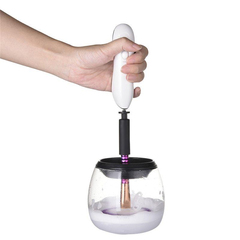 Maquillage Brosse Cleaner Pratique Silicone Pinceaux de Maquillage Nettoyant Outil De Nettoyage Machine