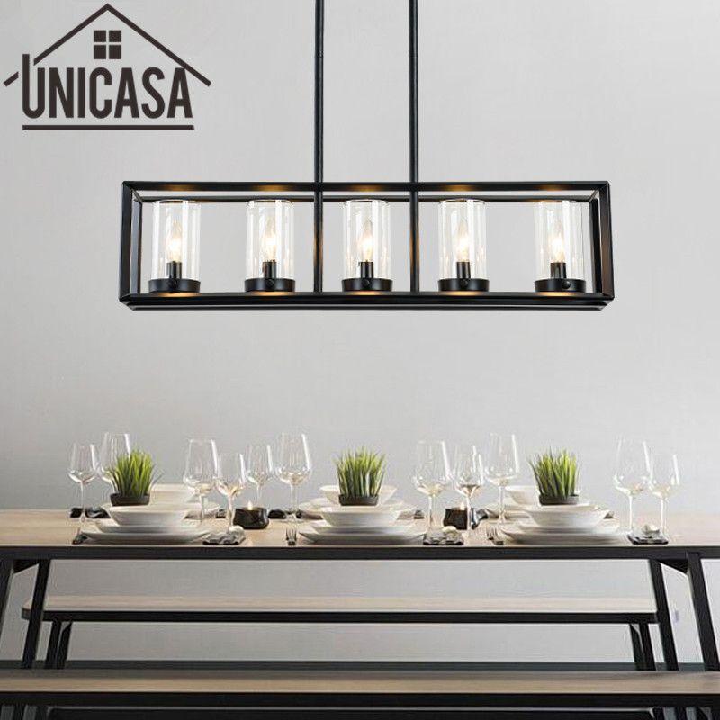 Große Bar Licht Vintage Land Deckenleuchte Küche Insel Pendelleuchten Antiken Schmiedeeisernen Industrielle Beleuchtung Büro