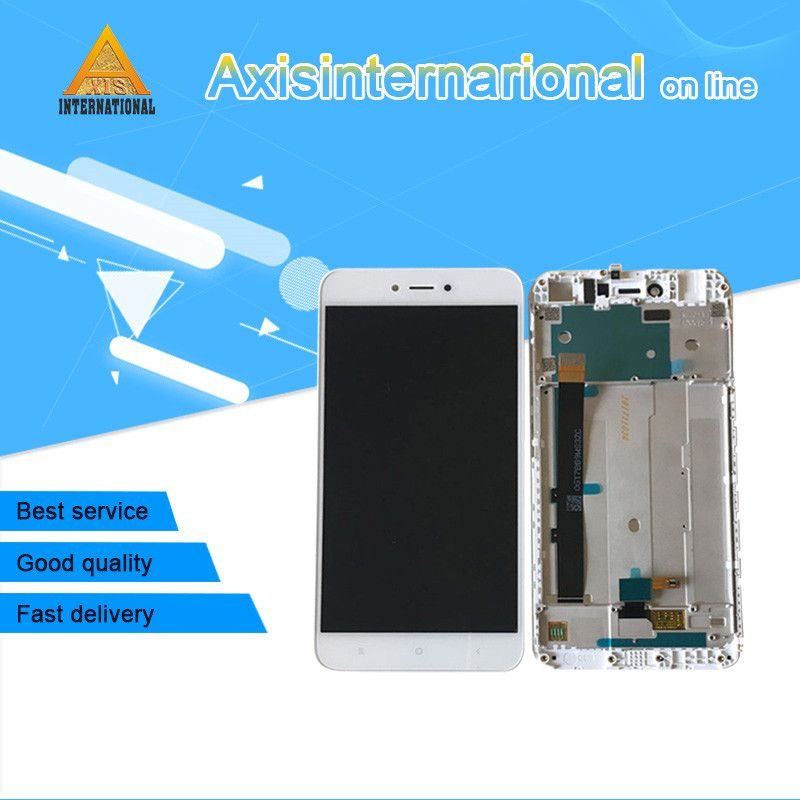 Axisinternational For 5.5 Xiaomi <font><b>Redmi</b></font> Note 5A <font><b>Redmi</b></font> Y1 Lite/Y1 LCD screen display+touch panel digitizer with frame Original