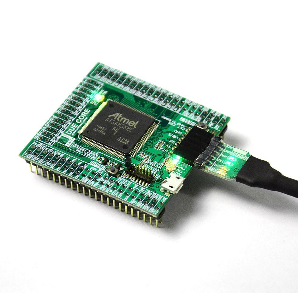 Due R3 Core For Arduino Compatible SAM3X8E 32bit ARM Cortex M3 Module UC-2102 512K Flash 96K RAM 12bit ADC 12bit DAC 84MHz