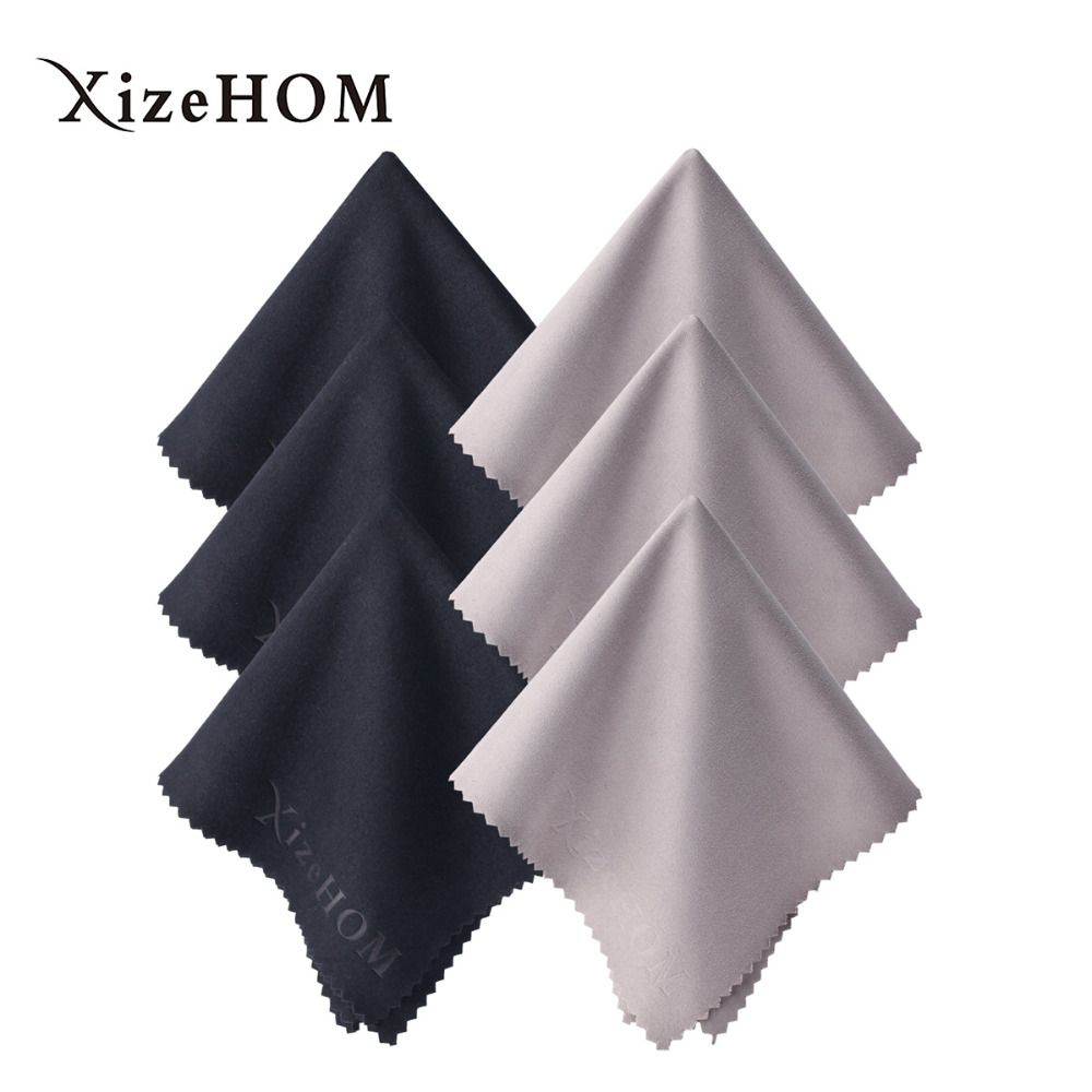 XizeHOM 30*30cm/6pcs Household Cleaning Tools ,Microfiber Cleaning cloth for All screen, Eyeglasses, Glasses, Camera Lenses