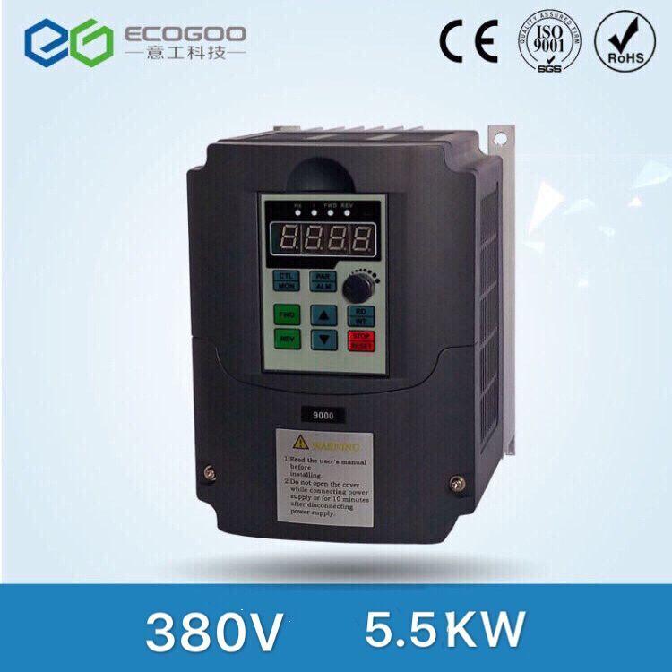 380 v 5.5kw 3 phase Variable frequenzumrichter AC drive vfd vsd konverter motordrehzahl