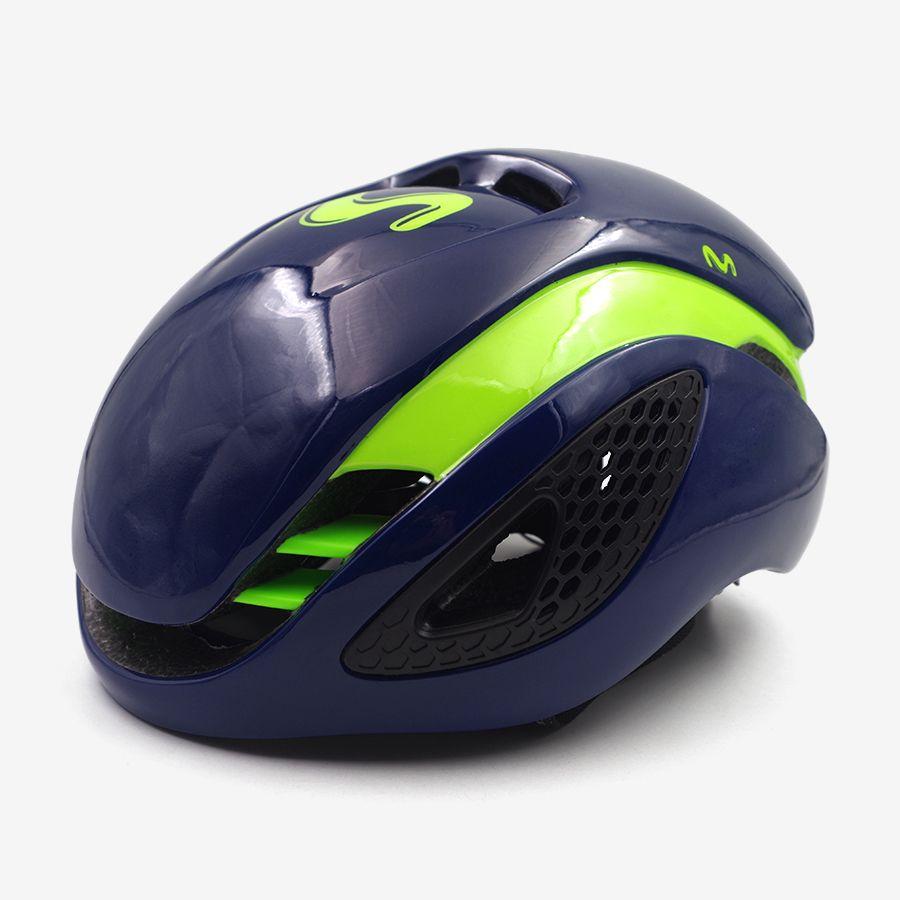 road racing triathlon aero cycling helmet men movistar mtb mountain abuse bike helmet safety tt bicycle equipment Ciclismo 2018