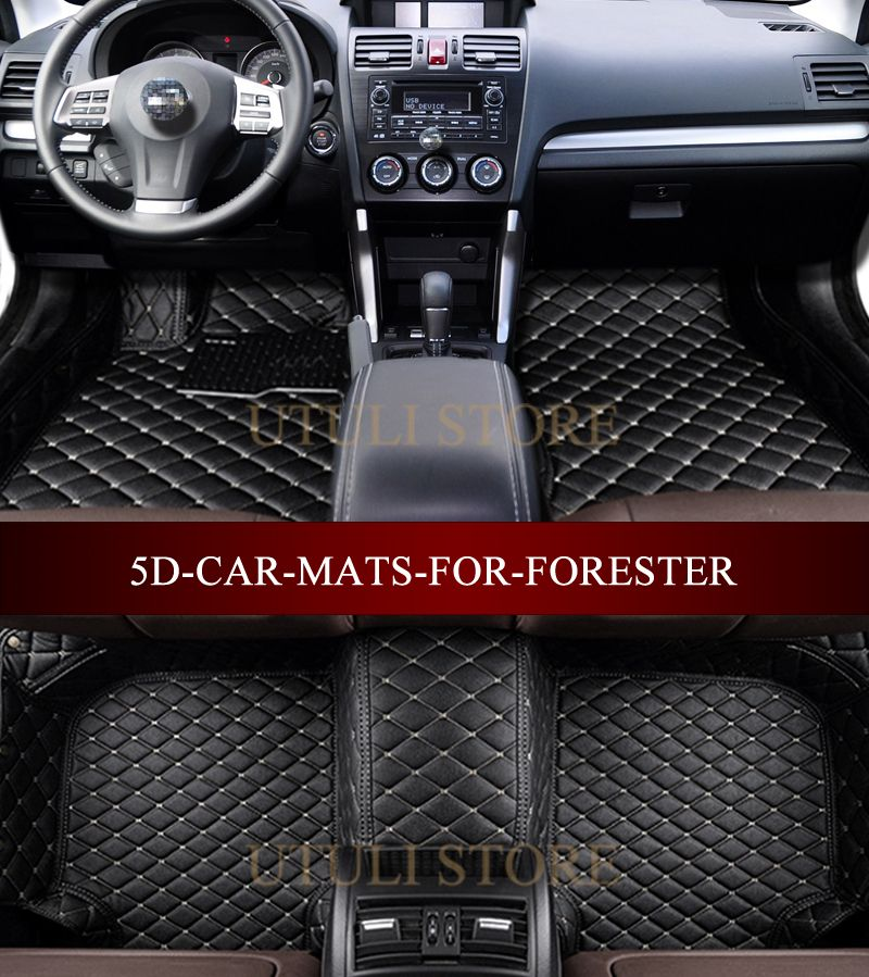 Car floor mats for Subaru Forester 2002-2017 3D custom fit car carpets foot mats